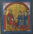 Raymond Wilfred I of Cerdanya receives the homage of Bertran of Salt.png