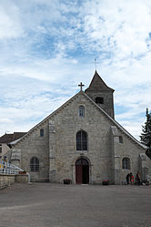 The church in Recey-sur-Ource