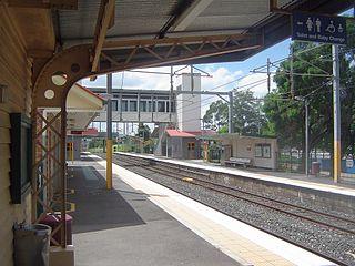 Redbank railway station railway station in Brisbane, Queensland, Australia