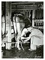 Rehabilitated ex-serviceman in his milking shed.jpg