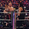 Reigns vs Lesnar WM34 crop.jpg