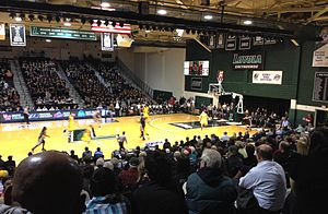 Reitz Arena - Greyhounds home game at Reitz Arena