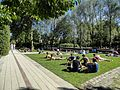 Relaxing at Jardin Yitzhak Rabin.jpg