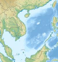 石島 (西沙諸島)の位置