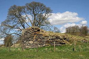 Gilnockie Tower - Remains of Mangerton Tower, Mangerton