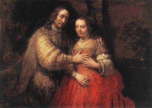 Rembrandt - The Jewish Bride - WGA19158
