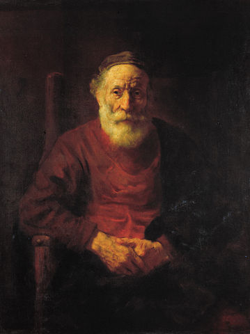 Rembrandt Harmenszoon van Rijn - An Old Man in Red.JPG