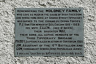 P. J. Moloney Irish politician
