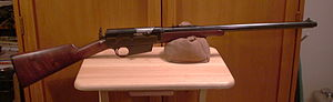 Remington Model 8 - Remington Model 8 semi-automatic rifle.