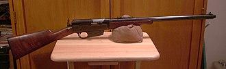 Remington Model 8 - Remington Model 8 semi-automatic rifle.