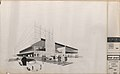 René Gagès (architecte), Jean Prouvé (ingénieur) et Jean Amado (céramiste), Étude pour le Montgolfier à Lyon, 4 janvier 1961, encre, lavis et letraset sur calque, ADRML 150 J 3.jpg