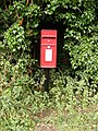 Rendham Hill Postbox - geograph.org.uk - 1429317.jpg