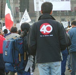 XHTVM-TDT - Reporters for Proyecto 40, December 2006