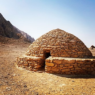 Archaeology of the United Arab Emirates - Hafit period beehive tomb at Jebel Hafit