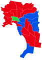 Results of the Australian federal election in Melbourne, 2013.png