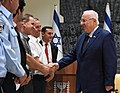 Reuven Rivlin and Roni Alsheikh in a meting with the heads of the local councils in the Arab sector, August 2017 (3684).jpg