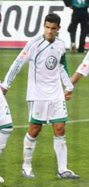 Ricardo Costa (Portuguese footballer) - Costa at Wolfsburg in October 2009