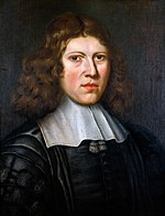 Richard Lower (1631-1691), anatomist. Oil painting by Jacob Wellcome M0007626.jpg