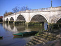 Richmond 017 Richmond Bridge, early April afternoon.JPG