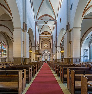 Riga Cathedral - Image: Riga Cathedral Nave, Riga, Latvia Diliff