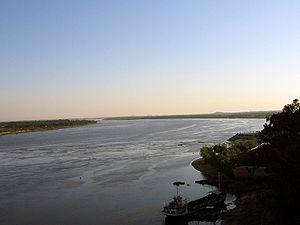 Paraguay River - View of Paraguay River near Asunción