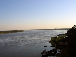 river of Argentina, Brazil and Paraguay