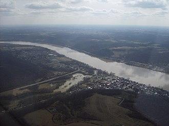 Ripley, Ohio - Image: Ripley on the Ohio River