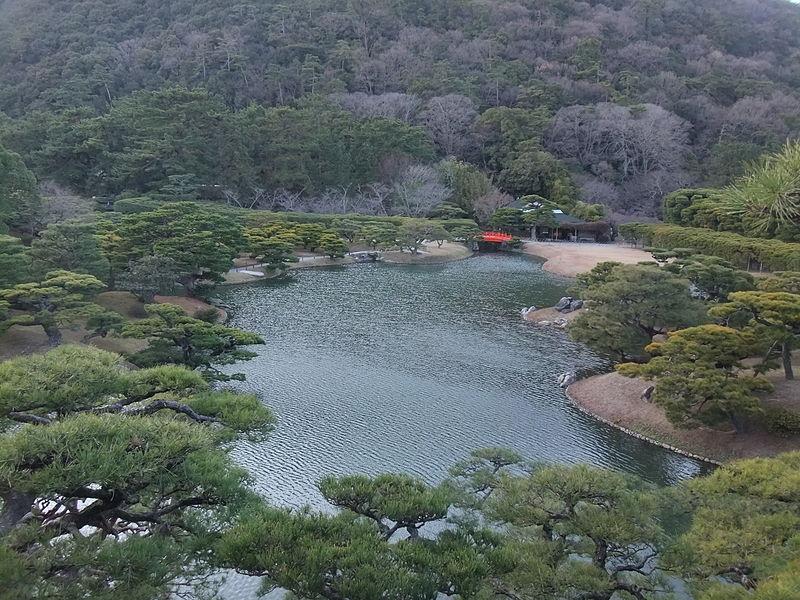 [香川]特別名勝栗林公園 (原創)