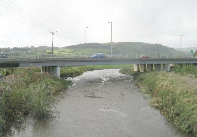 River Aire - Main Road, Kildwick - geograph.org.uk - 1016839