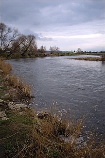 Der River Ribble bei Ribchester