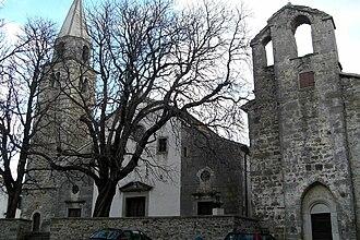 Roč - St Bartholomew's church and St Anthony Abbot's church