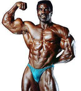 MR. LIFESTYLE - ROBBY ROBINSONTHE BLACK PRINCE of bodybuilding