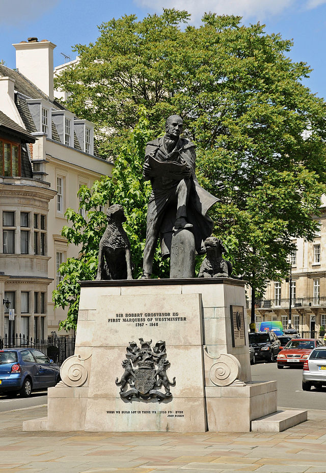 Statue of the 1st Marquess of Westminster, Belgravia