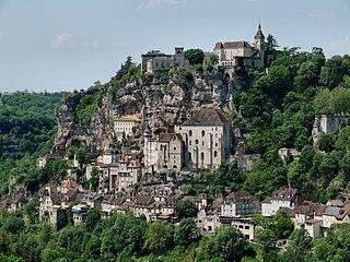 Rocamadour Commune in Occitanie, France