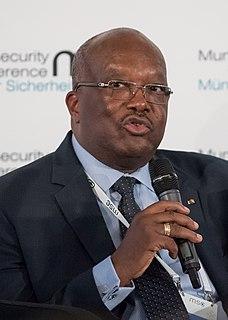 Roch Marc Christian Kaboré President of Burkina Faso