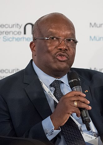 Roch Marc Christian Kaboré - Kaboré during the Munich Security Conference 2018