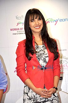 Rochelle Maria Rao at Godrej Eon's 'Woman of Substance Award 2013' 02.jpg