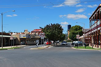 Rochester, Victoria - Image: Rochester Gillies Street