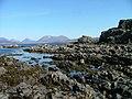 Rocky shore near Tarskavaig. - geograph.org.uk - 773574.jpg
