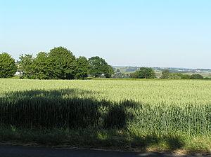 Holzlar - Holzlar-Roleber – view towards south