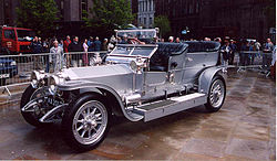 AX 201 at the Rolls-Royce centenary celebrations, Manchester, 2004