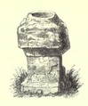 Roman Altar at Stone in the Isle of Oxney - 'Page Notes on the churches in the counties of Kent, Sussex, and Surrey djvu 196 - Wikisource'.png