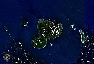Romang - Image: Romang Island NASA