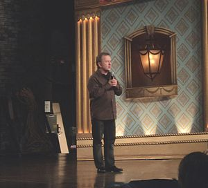 Ron James (comedian) - Ron James taping his show in 2011.