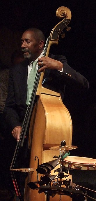 "Jazz bass - Ron Carter pictured playing with his Quartet at ""Altes Pfandhaus"" in Cologne"