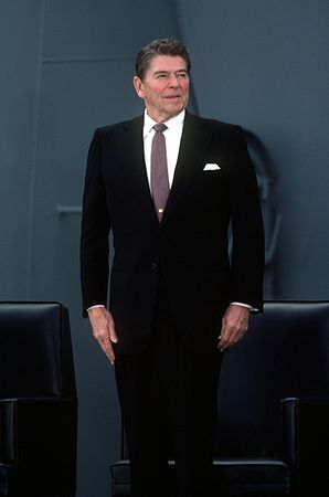 Ronald Reagan en 1982