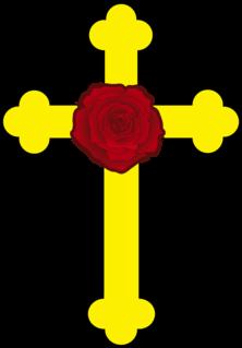 Rose Cross Mystical symbol