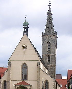 Image illustrative de l'article Cathédrale Saint-Martin de Rottenburg