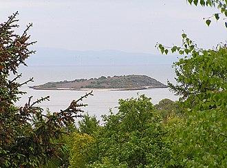 Tidal island - Rough Island opposite Rockcliffe, Dumfries & Galloway, Scotland