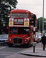 Routemaster bus RM1942 (ALD 942B) Golders Green, July 1978.jpg